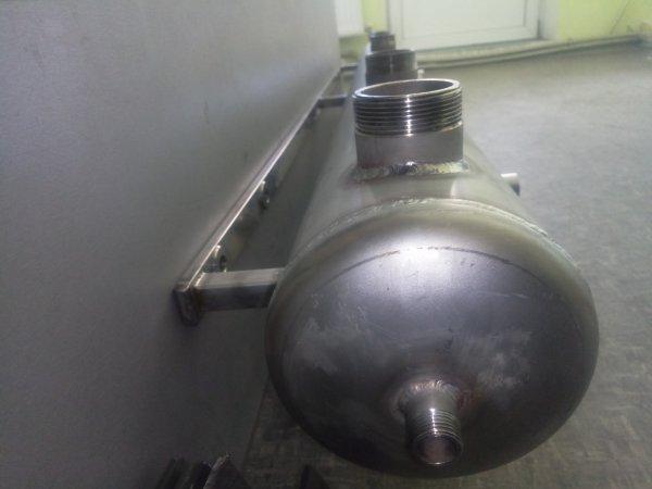 Фото 3 Гидрострелка для твердотопливного котла 328528