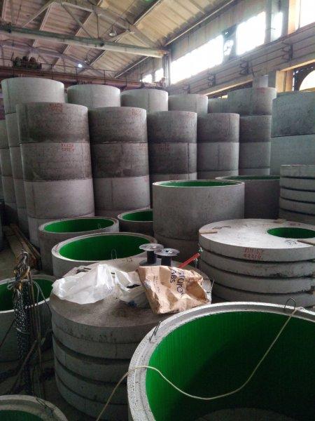 Фото  1 Бетонные кольца для канализации, колодца КС 15.9 с гидроизол. 892547