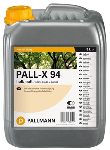 Pallmann Pall-X 94 Лак для паркета на водной основе