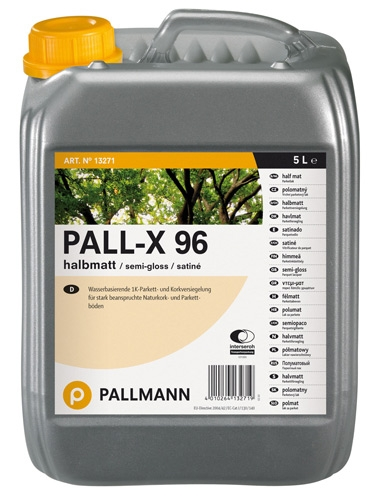 Pallmann Pall-X 96 Лак для паркета на водной основе