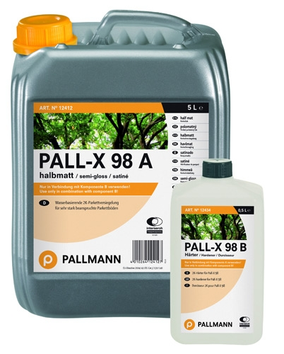 Pallmann Pall-X 98 Лак для паркета на водной основе