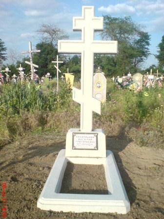 ПамятникКрест православный, комплект
