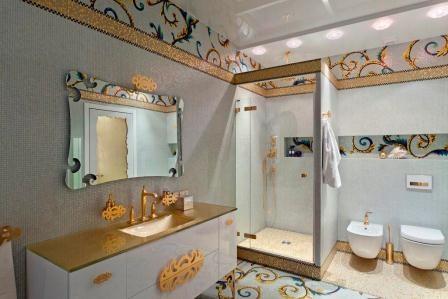 Panda Interior Mosaic