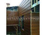 Фото  7 Панель для фасада, металический Блок Хаус и Корабельная доска 2750796