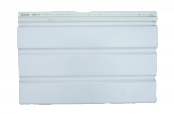 Панель Соффит (карнизная подшивка) мелкая текстура; S–1.07м2. Длина-3,5м. Ширина-0,305м. Цвет-белый