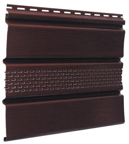 Панель софит (размеры 4 х 0,305) коричневая