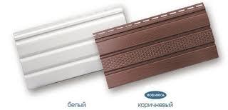 Панель софит (Soffit) панель КОРИЧНЕВАЯ с перфорацией и без. Размер 3000х270х1,2 мм. Для подшивки кровли. Доставка!
