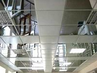 панели потолочные для подвесного потолка стальные с покрытием полиэстер и нержавеющей полированой стали под зеркало.
