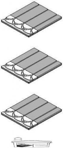 Панели з шт T2Reflecta и 2 концевых панели на 1,0 м2