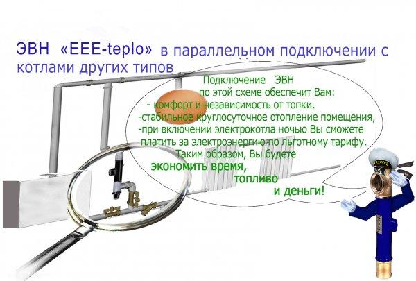 """Фото 8 Электрические электродные мини-котлы ЕЕЕ 4,5"""" 133687"""