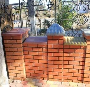Парапеты на забор, Николаев Парапеты для забора, в Николаеве Парапеты бетонные для заборов
