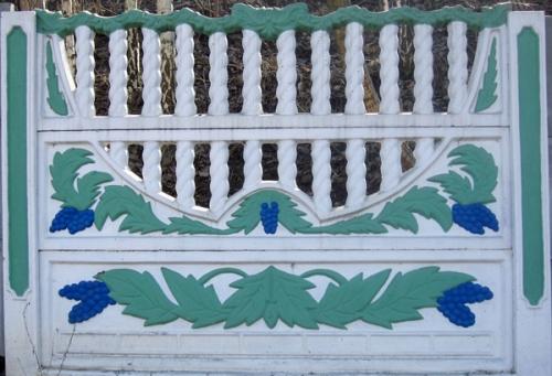 Забор бетонный декоративный в Виннице