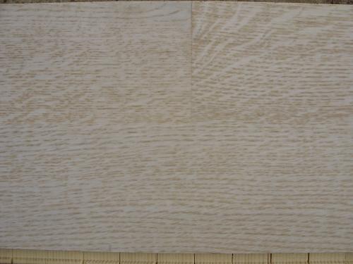 Паркетная доска Befag Дуб селект (белый лак) 2-полосный дизайн. Размер 2200*192*14мм.