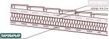 Паробарьер 1.5м*50м=75м2.