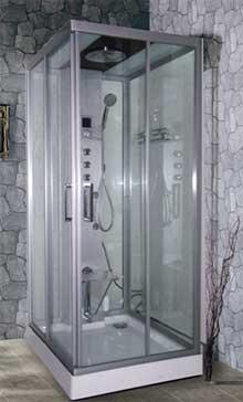 Паровой бокс Apollo A-8035B Размер: 90x100x218 см Парогенератор Подсветка панели управления