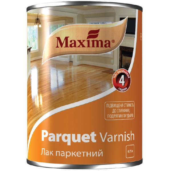 Паркетный лак на алкидной основе TM Maxima