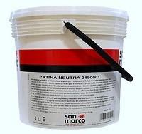 Patina (Италия) Воск для защиты минеральных декоративных покрытий.20м2/1л. золото, серебро, бронза.