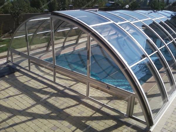 Павильон для бассейна CLASSIC Размер:3200•6200• 1200 3-секции.