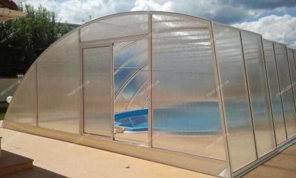 Павильон для бассейна ELEGANCE Размер:4500•10500•26 00 5-секций.