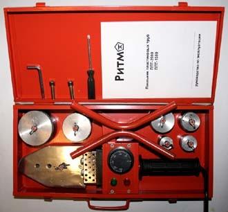 Паяльник для пластиковых труб РИТМ ППТ-1500, 1500Вт