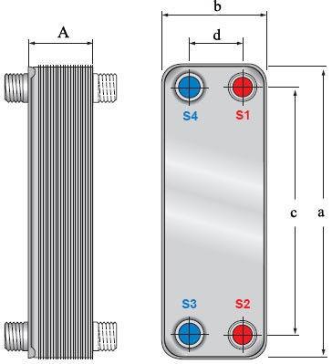 Теплообменник паяный альфа лаваль технические характеристики курсовая работа где расчитан теплообменник
