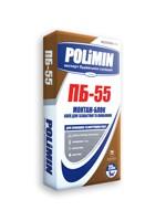 ПБ 55 (25 кг) Суміш / кладки газо-, пенобет.2-10мм Полімін