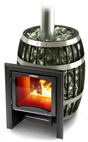 Печь для бани Саяны Vitra Термофор для парилки от 8 до 18 м. куб. Выполненна из жаростойкой стали Габариты 600х710х793
