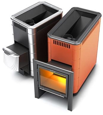 Печь для бани Тунгуска 16 Термофор для парилки от 8 до 16 м. куб. Выполненна из жаростойкой стали Габариты 415х840х795