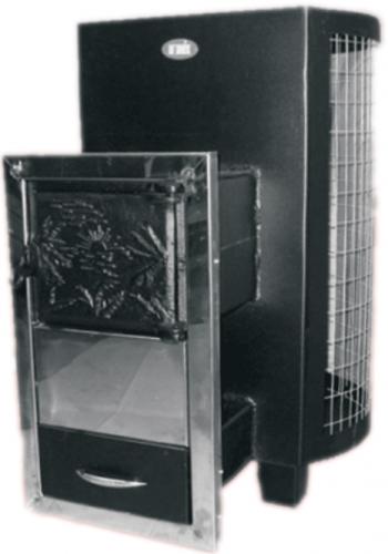 Печь-каменка без обшивки, оснащена сеткой для камней, выносная ДПС-8в