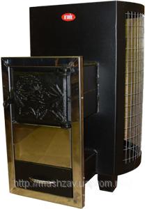 Фото  1 Печь-каменка для саун ДПС-8в-выносная с сеткой для камней. 1745342