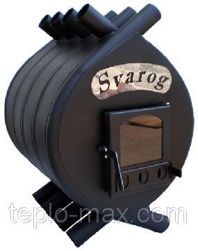 Печь отопительная булерьян Svarog (Сварог) 01 дверцы из термостойкого стекла.