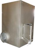 Печь отопительная ПОТ 30 (воздушное отопление