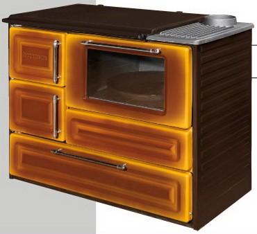 Печь отопительно-варочная 4010 (духовка), высота: 795 мм, ширина: 930 мм, глубина: 530 мм, вес: 76 кг, мощность 7 кВт,