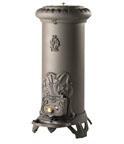 Печь вольностоящая INVICTA SOLOGNE antracite:высота 815 мм, ширина 410 мм, глубина 510 мм, мощность 8 кВт, пр-ль Франция