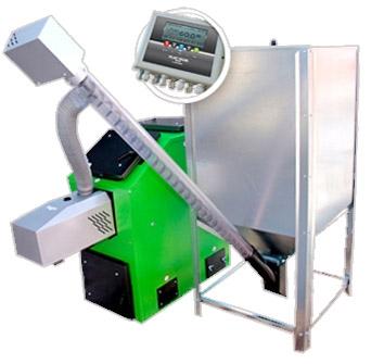 Пеллетный напольный котел Kostrzewa Pellets 100 (16 кВт)