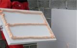 Пена клей для пенопласта UNO POLYSTIROL FIX (Словения) Приклеивает 10 м. кв.