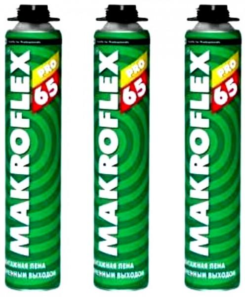 Пена монтажная Makroflex Pro 65