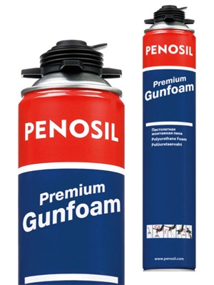 Пена монтажная PENOSIL Gunfoam 45 L (Эстония)