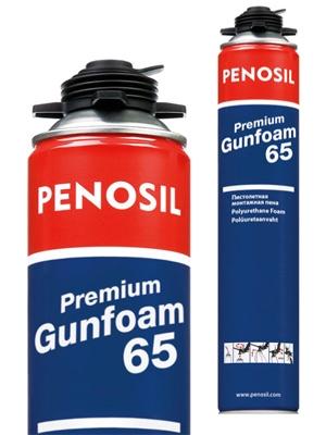 Пена монтажная PENOSIL Gunfoam 65 L высшего качества (с доставкой на объект)