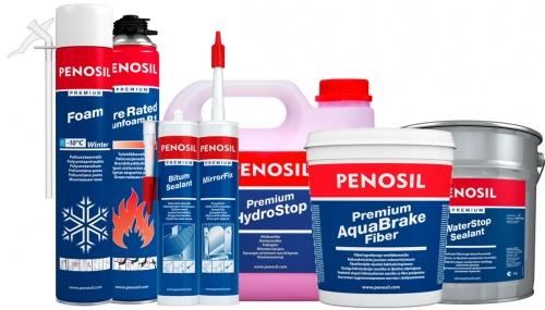 Пена монтажная Penosil в полном ассортименте оптом. Доставка по Украине.
