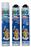 Пена монтажная зимняя UNO Prof Work 65 Winter (Эстония)