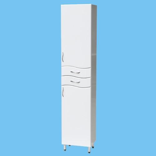 Пенал П-5, ширина 30см, высота 195см, цвет белый