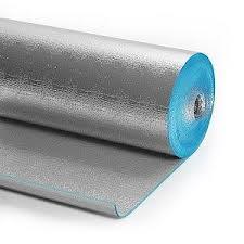 Пенофол тип В(3мм)-двустороннее фольгирование алюминиевой фольгой. Утеплитель, теплоизоляция.