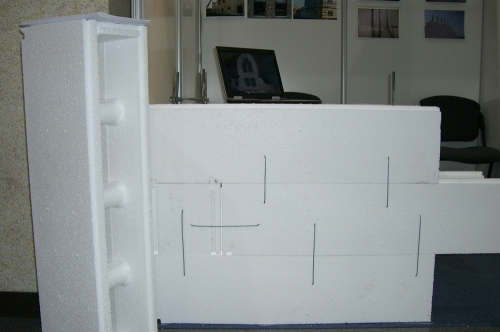 Пенополистирольный блоки (термоблоки) для строительства по технологии термодом.