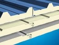 Пенополиуретан крышная сэндвич панель с двосторонней облицовкой 60 мм.