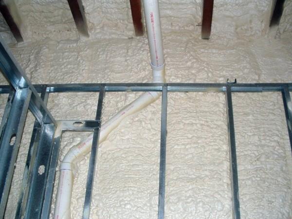 Пенополиуретан напыляемый плотность 35 кг/м. куб