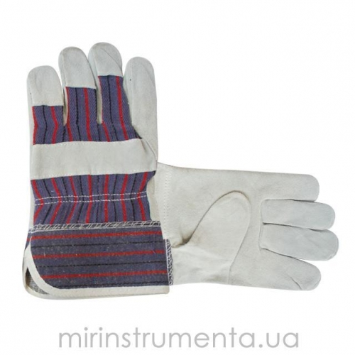 Перчатка замшевая утепленная INTERTOOL SP-0154