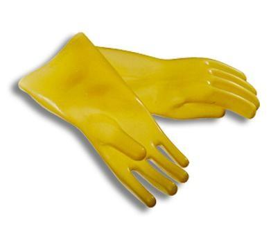 перчатки диэлектрические бесшовные в ассортименте (испыт. на 9 кВ)