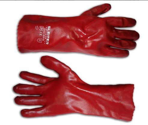 Перчатки из ПВХ (35 см)