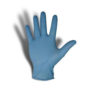 Перчатки нитриловые тонкие